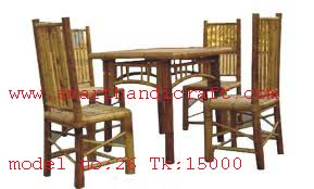 Bamboo Dining Table, Model no-26